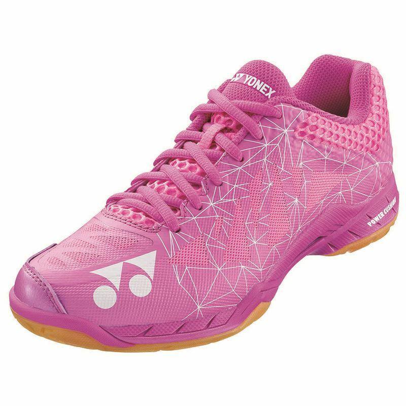 Yonex Womens Aerus 2 Badminton shoes (Pink)