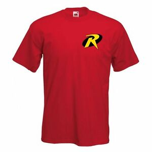 Robin-batman-039-s-acolyte-t-shirt-logo-classic-comic-superhero-homme-enfant