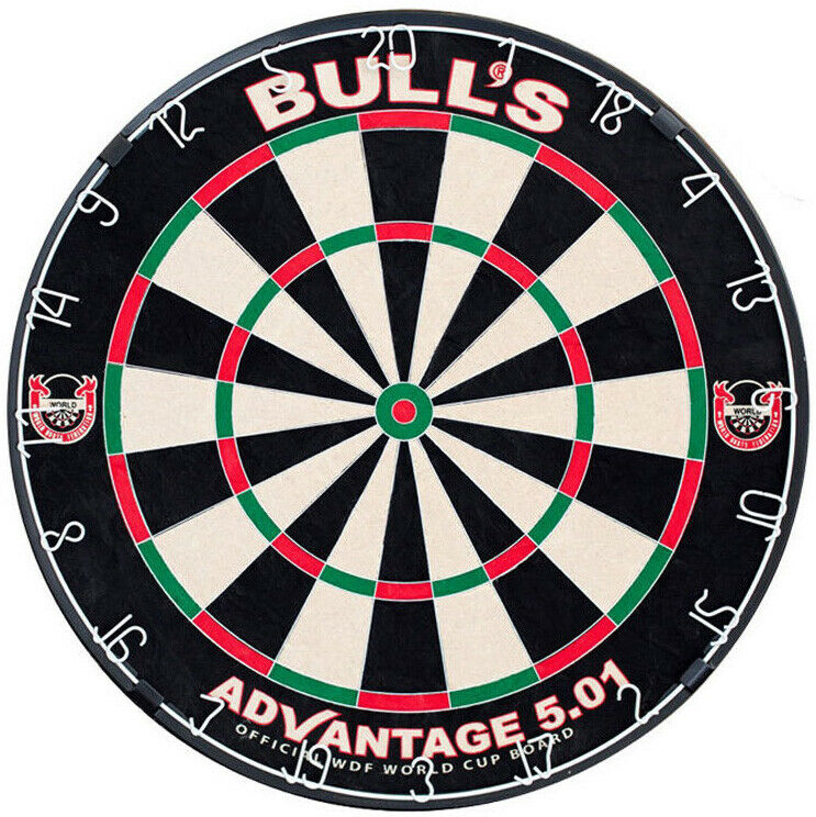 Bulls Advantage 5.01 Steel Tip Dartboard   Dart Board Professional High Quality