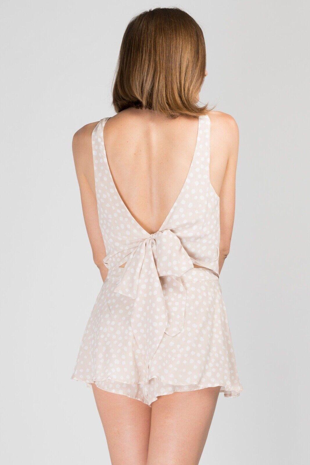 SIR  THE LABEL Valentina Tie Top-Talla 0  mejor moda