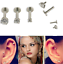 New-16G-Gem-Round-Tragus-Lip-Ring-Ear-Stud-Earring-Cartilage-Body-Piercing thumbnail 2