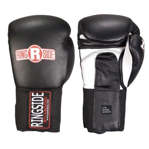 Ringside IMF Tech Boxing Gloves Training Sparring Gear Black White 14 16 18 oz