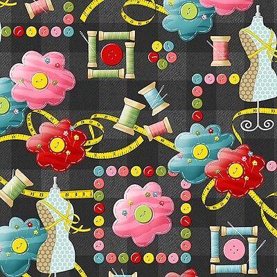 Sew What by Dana Brooks Quilt Fabric Fat Quarter