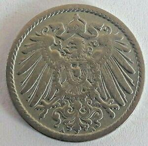 5-pfennig-KM-11-1890-1915-DEUTSCHES-REICH-GERMANY-Kaiserreich