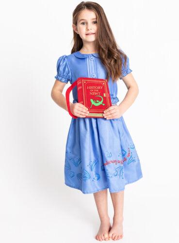 Filles Matilda Roald Dahl COSTUME ROBE FANTAISIE AVEC LIVRE Rouge 3-4 5-6