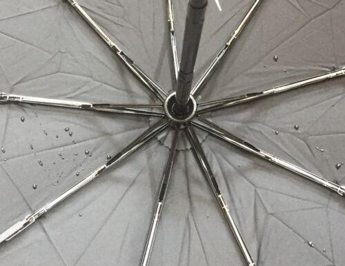 Black Teflon Windproof Umbrella BNWT