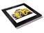 Koolart Cartoon Auto Ferrari California Rückglas Tisch Untersetzer