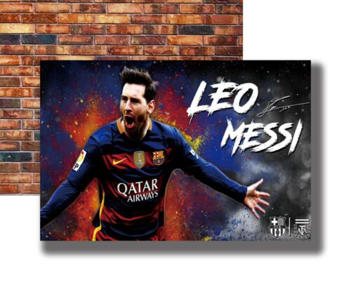 New Lionel Messi Football King Soccer Poster 14x21 24x36 Art Gift X-1745
