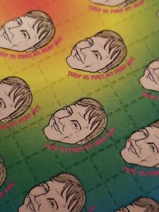 Tim Leary Heads Blotter Art prints psychedelic sheet classic blotter perforated