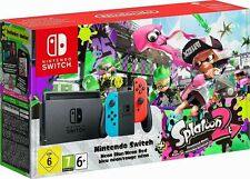 NINTENDO SWITCH KONSOLE NEON-BLAU  NEON-ROT + SPLATOON 2 LTD