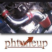 Red Red 2002-2005 Chevy Cavalier 2.2 2.2l (ecotec Only) Air Intake Kit Systems