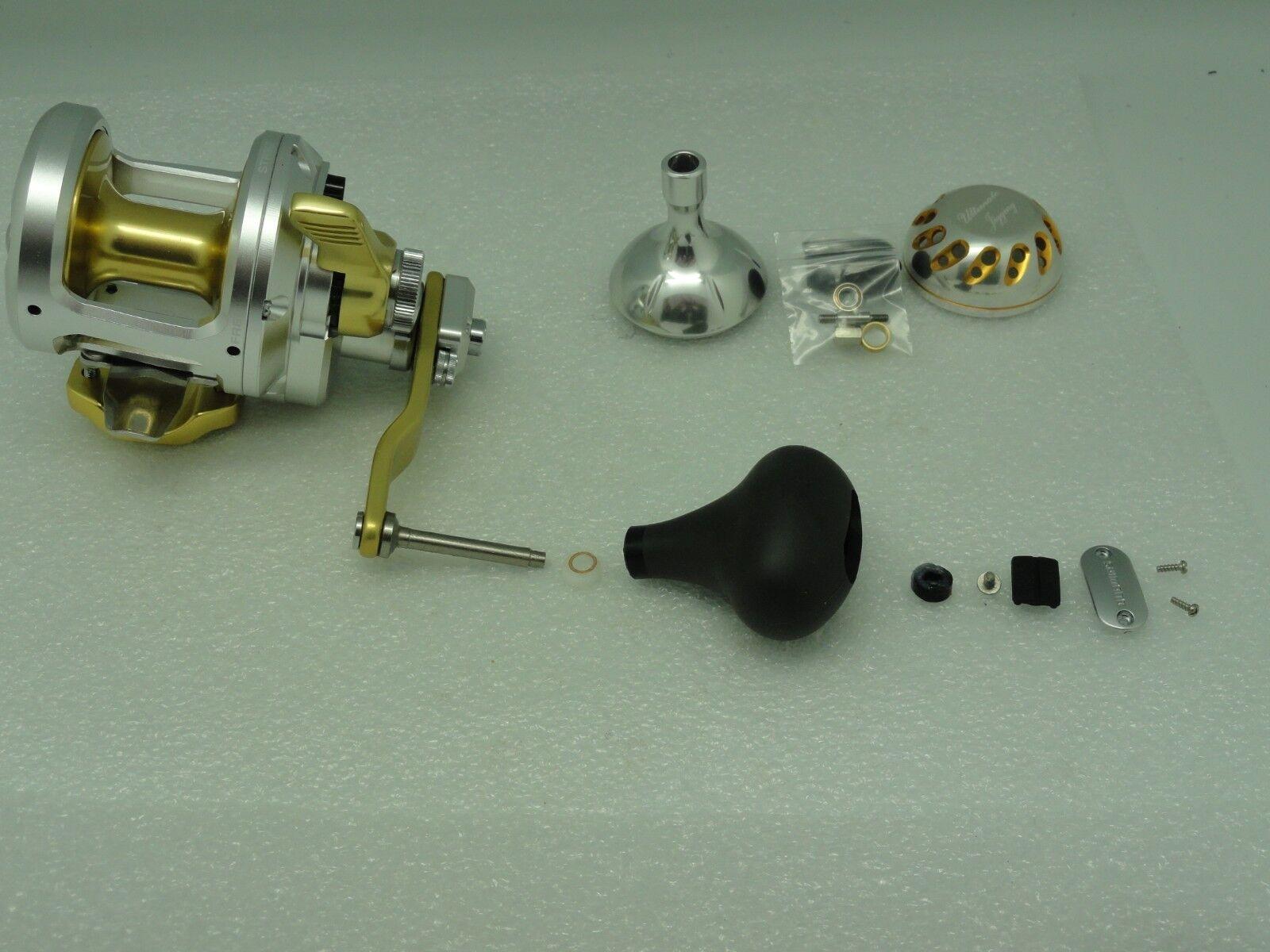 UJ PRK 45mm knob direct fit for Shimano Talica TAC 8 10 12 16 20 25 reel SV//GD