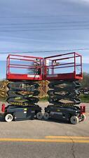 Skyjack 3219 Electric Scissor Lift Manlift Refurbished Amp Warranty Dealer