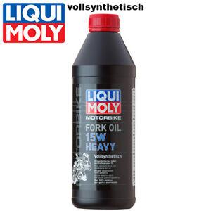 Liqui Moly Motorbike Gabelöl 2717 15W heavy vollsynthetisch 1Liter Fork oil