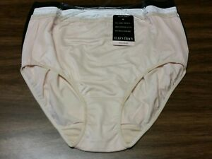 5 Pack Black Cotton Full Brief plus Size 14 to 36