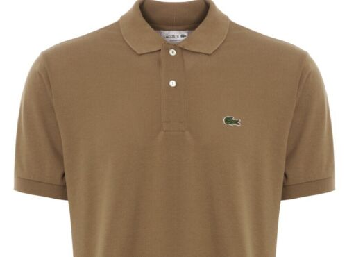 Lacoste Polo Shirt Men/'s Classic fit in Kraft Fonce RRP£80