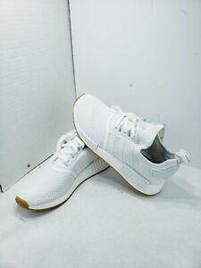 Size 8 Adidas Nmd R1 Originals Men White Gum Bottom Ebay
