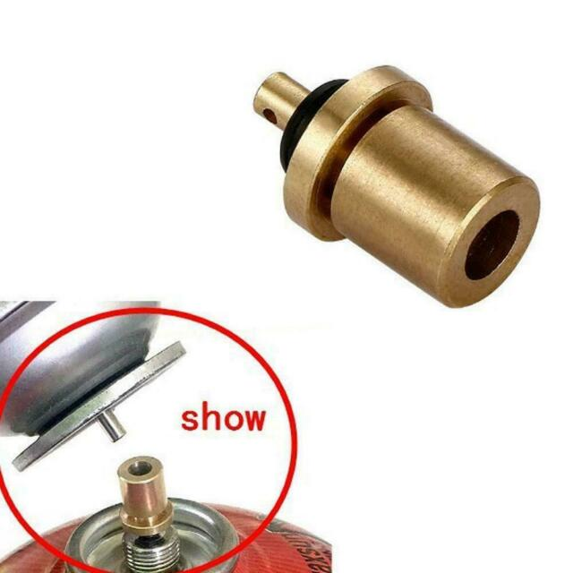 2pcs//set Outdoor Camping Gas Refill Adapter Filling Butane Canister