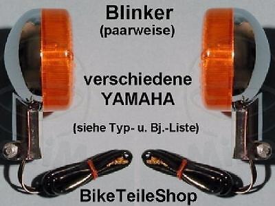2 Blinker Blinkleuchten vo./hi. für Yamaha XJ 650 4K0 YICS 82-85 XJ650 indicator