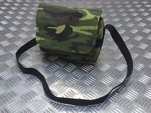 Military-Style-Mini-Canvas-Shoulder-Bag-Small-Effects-Military-Camo-Stripe-NEW