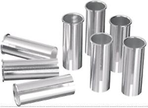 ErgoTec-AL-6061-Alloy-Fahrrad-Sattel-Sattelstuetze-Shims-25-4-26-8mm-Silber