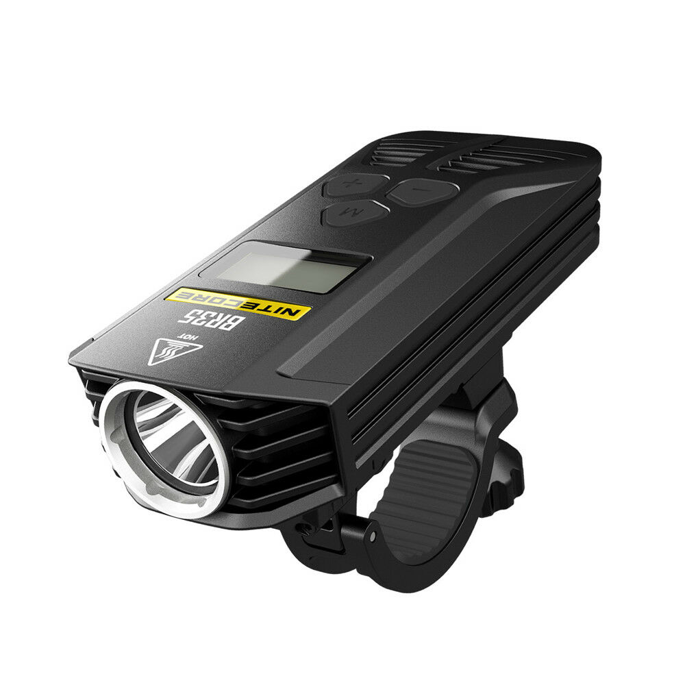 Nitecore BR35 Dual Distance Beam Bike Headlight OLED Display LED Bicycle Light