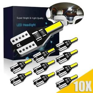 10X-LED-T10-501-194-W5W-7020SMD-Car-CANBUS-Error-Free-Wedge-Light-Bulb-White