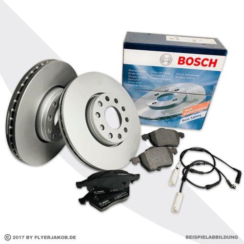 WK bmw 1er e81 3er e90//e91//e92//e93 Bosch discos de freno Ø 300 mm pastillas freno
