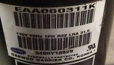 Discounthvaccp P0330601he Carrier Compressor Eaa060311k 115v R22 Free Freight
