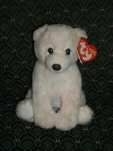 2010 Version Polar Bear 6 Inch NEW MWMT Ty Beanie Baby ~ IGLOO the
