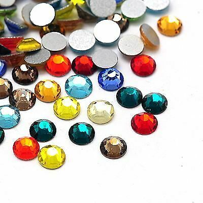 1000pcs Faceted Half Round//Dome Acrylic Rhinestone Flat Back Cabochons 8x2.5mm