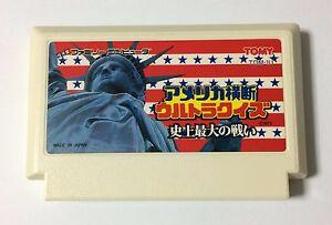 USED-Nintendo-FC-America-Oudan-Ultra-Quiz-JAPAN-NES-Game-Soft-Only-Famicom