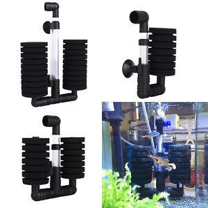 New-Aquarium-Fish-Tank-Biochemical-Double-Sponge-Air-Filter-Pump-Suction-Cup