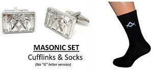"Masonic /""G/"" Freemasons Black /& Gold premium fully woven design Mens Socks"
