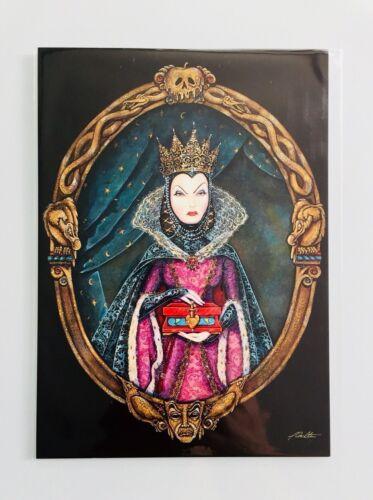 Disney Wonderground Evil Queen Fairest of the Fall John Coulter Postcard