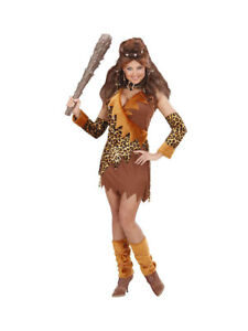 Kostum Neandertaler Steinzeit Frau Karneval Fasching Ebay