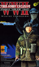 Cyber-Hobby Exclusive Dragon WWII German Commander Action Figure 1/6 NIB Steiner