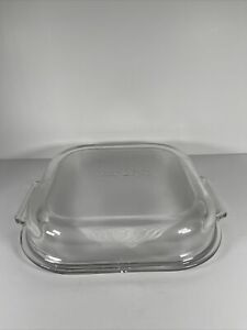 West Bend Electric Skillet Replacement Square Domed Glass Lid For Mdl 72030-001