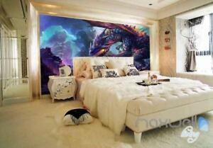 Image Is Loading Dragon Fighting Wall Murals Wallpaper Home Decor