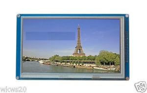 7-034-inch-TFT-LCD-module-800x480-SSD1963-w-touchpad-PWM-arduino-AVR-STM32-ARM