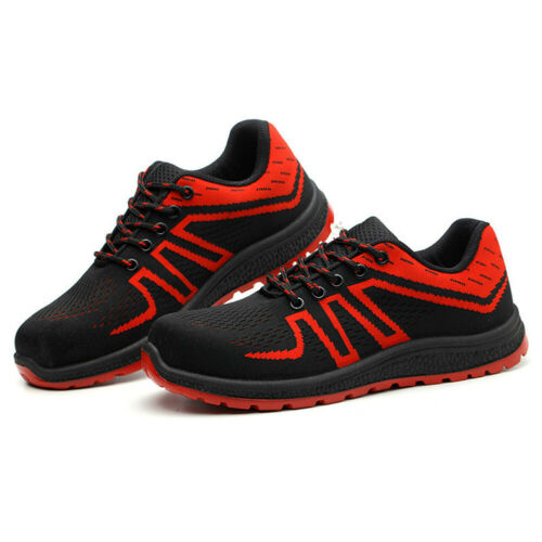Mens Safety Shoes Steel Toe Cap Sport Work Shoes Protective Footwear Trainers JJ