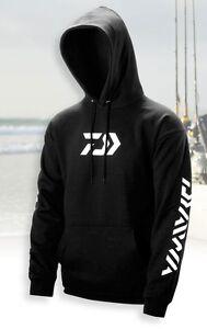 Daiwa Vector Hooded Sweatshirt, Black