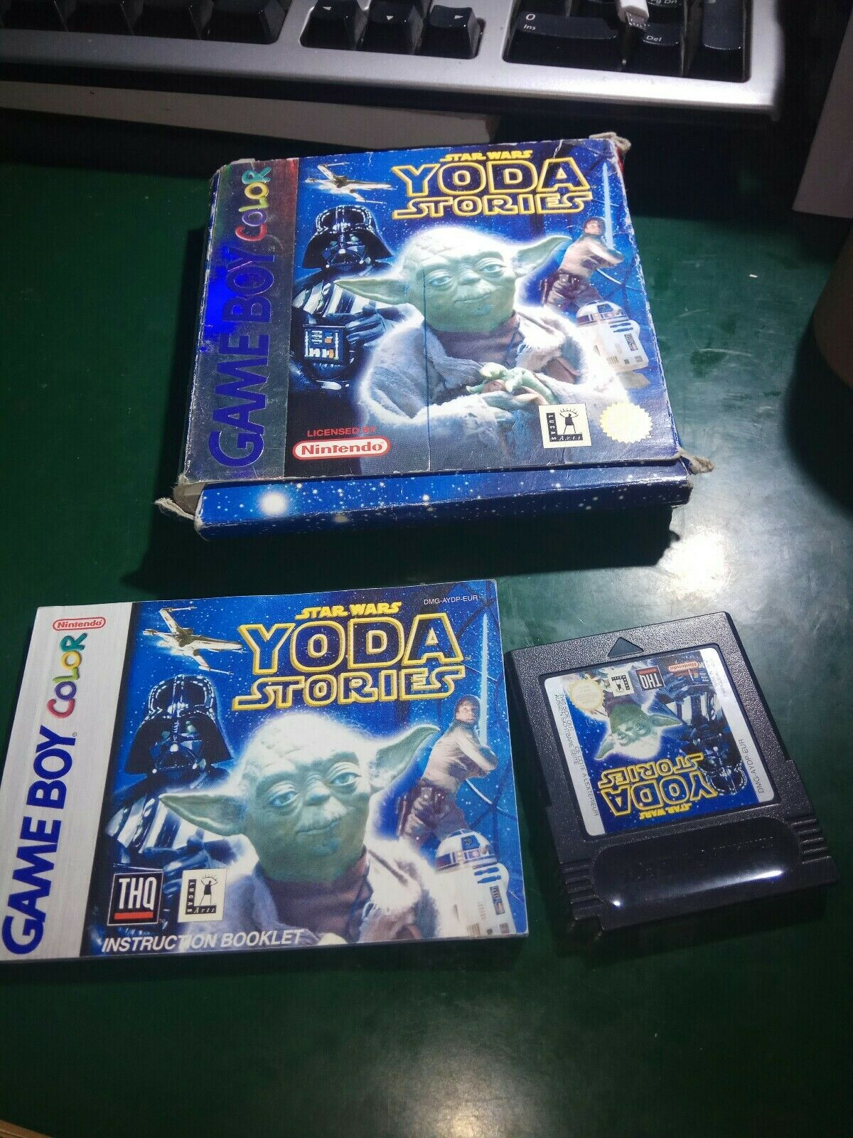 Star Wars: Yoda Stories (Nintendo Game Boy - Avis StarWars