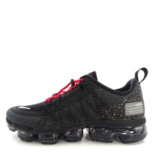 Wholesale Nike Air Vapormax Run Utility [AQ8810-001] Men Running Shoes Black/Silver for sale