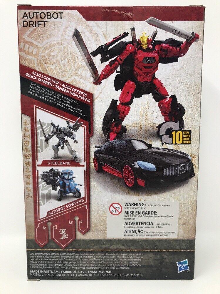 Premier Edition Transformer Autobot Autobot Autobot Drift Transformers The Last Knight 191ade