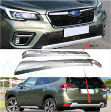 KPGDG Fit for Subaru Outback 2015-2017 ABS Plastic Front Rear Bumper Board Skid Plate Bar Guard