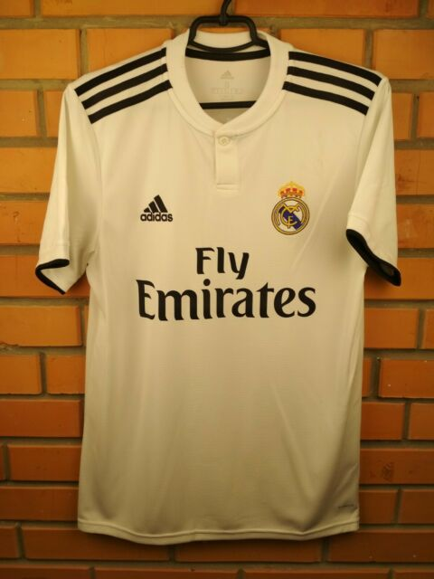 Real Madrid Jersey 2018 2019 Home S Shirt DH3372 Soccer Football Adidas Trikot
