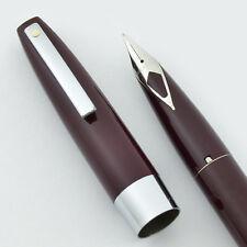 Sheaffer 330 (Imperial) Fountain Pen - Burgundy, Fine (New Old Stock, Converter)