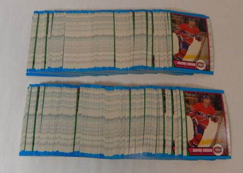 190 Lot of 1989-90 OPC O-Pee-Chee Shayne Corson #248  ^Nm//Mt