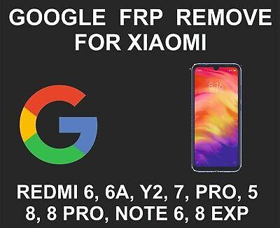 Xiaomi FRP Google Unlock Service, Mi 9T, K20, Redmi 7A, Note 7S, Y3, Mi Mix  3, M | eBay